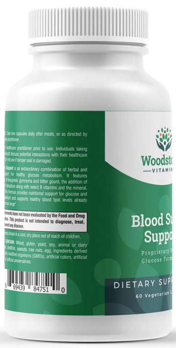 Blood Sugar Support - 60 capsules