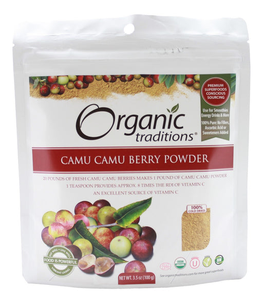 Camu Camu Berry Powder - 3.5 oz - Front