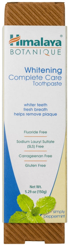 Whitening Complete Care Toothpaste Simply Peppermint - 5.29 oz Tube