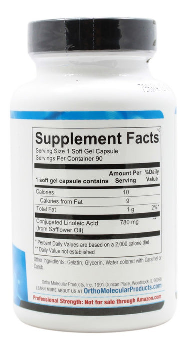 CLA - 90 Softgels - Supplement Facts