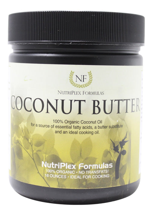 Coconut Butter - 16 oz - Front