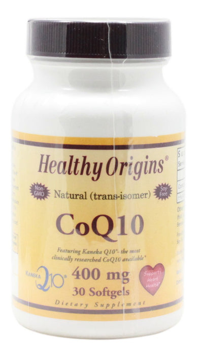 CoQ10 400 mg - 30 Softgels - Front