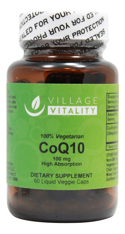 CoQ10 100mg - 60 Capsules - Front