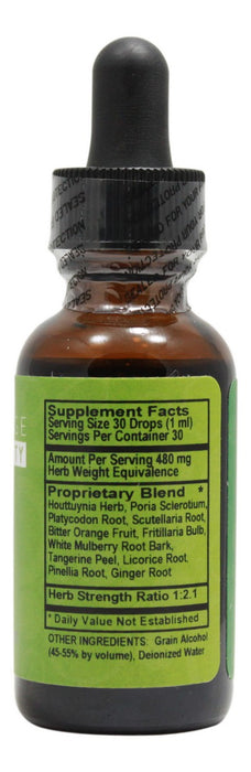 Cough Relief - 1 fl oz - Supplement Facts