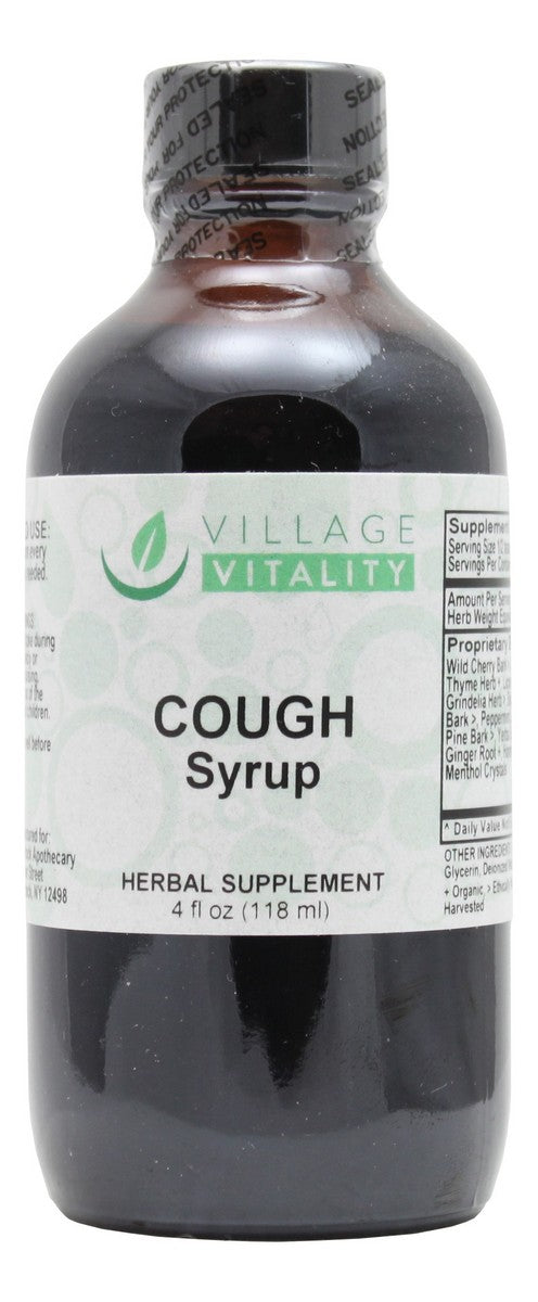 Cough Syrup - 4 oz Liquid - Front