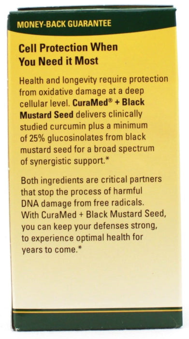 Curamed plus Black Mustard Seed - 60 capsules