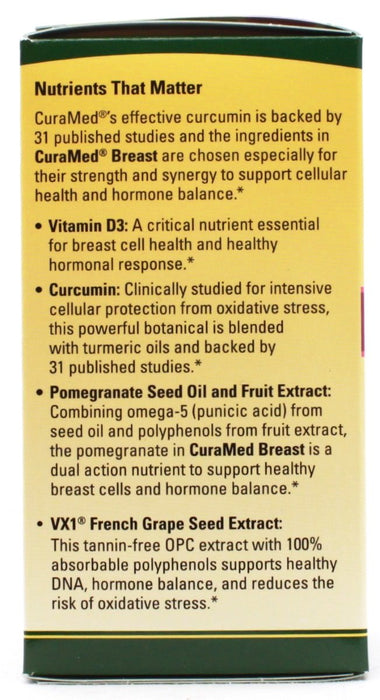 Curamed Breast - 60 softgels