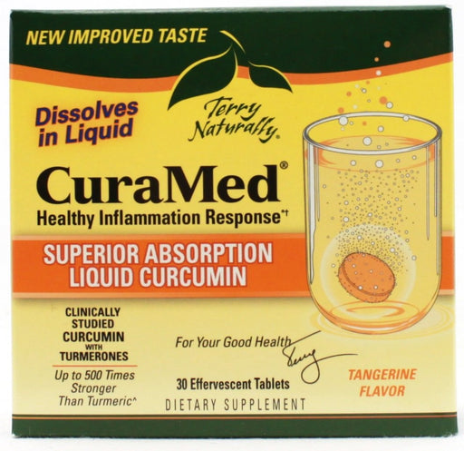 Curamed Effervescent - 30 tablets