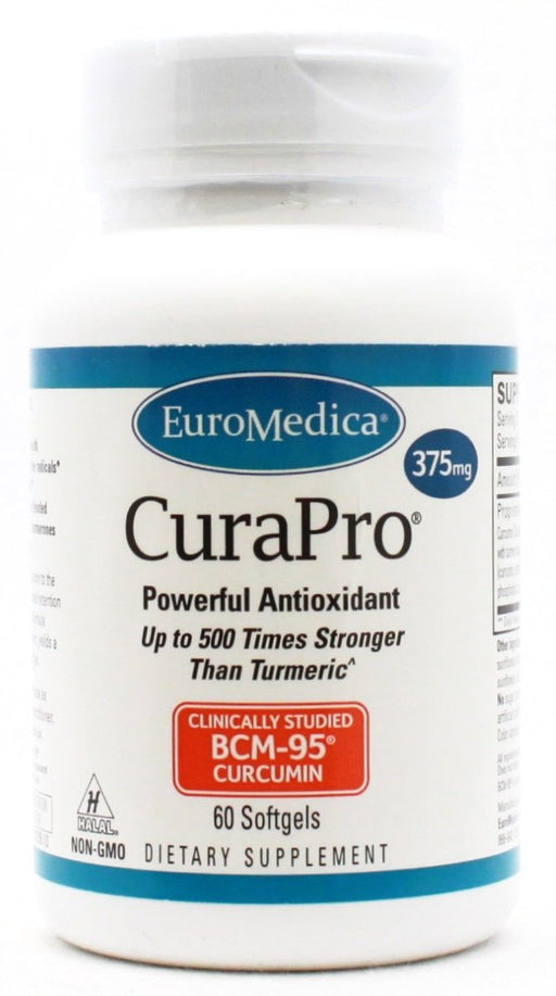 CuraPro 375mg - 60 softgels