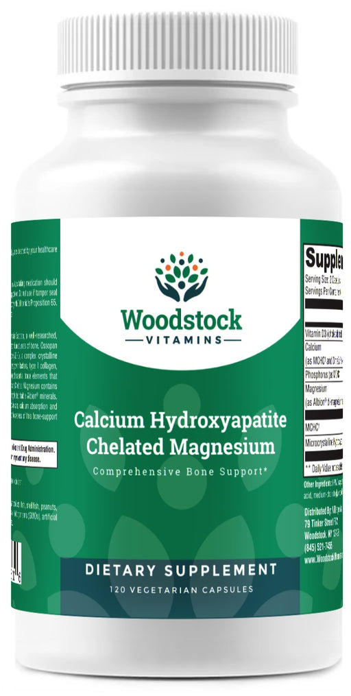 Calcium Hydroxyapatite Chelated Magnesium - 120 Capsules