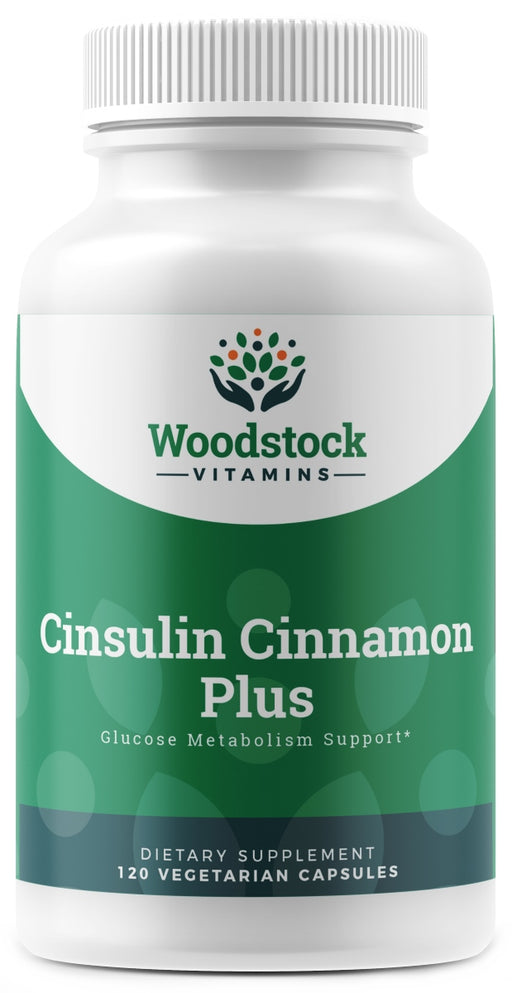 CInsulin Cinnamon Plus - 120 capsules