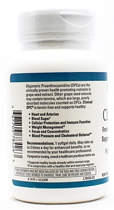 Clinical OPC 400mg - 60 softgels
