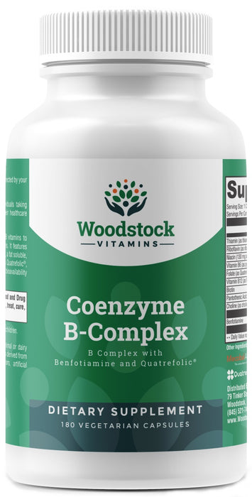 Coenzyme B-Complex - 180 Capsules