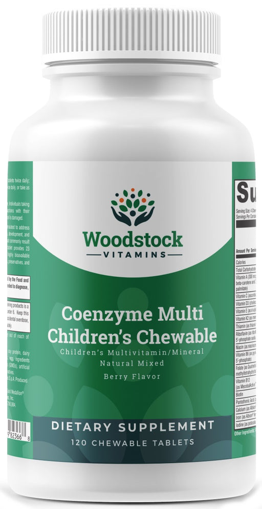 Coenzyme Multi Children's Chewable - 120 Chewable Tablets