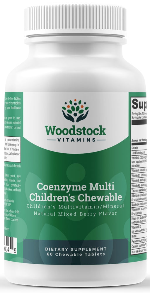 Coenzyme Multi Childrens Chewable - 60 Chewable Tablets
