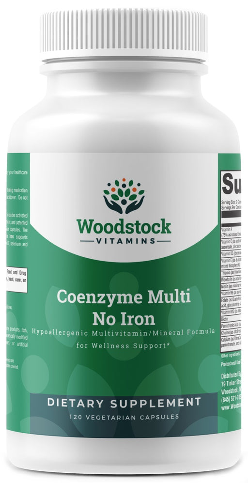 Coenzyme Multi No Iron - 120 Capsules