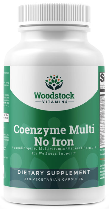 Coenzyme Multi No Iron - 240 Capsules