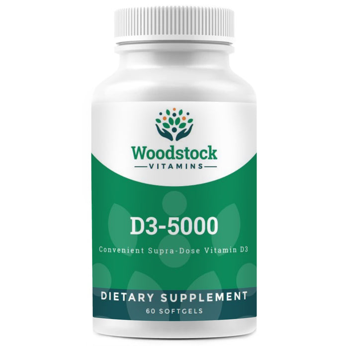 D3-5000 - 60 Softgels