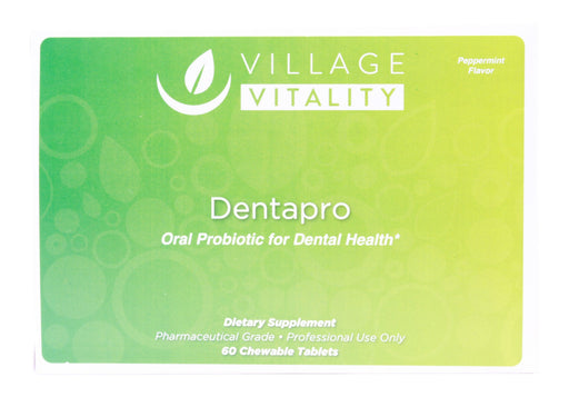 Dentapro - 60 Chewable Tabs - Front