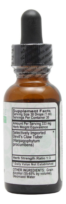 Devil's Claw - 1 oz Liquid - Supplement Facts