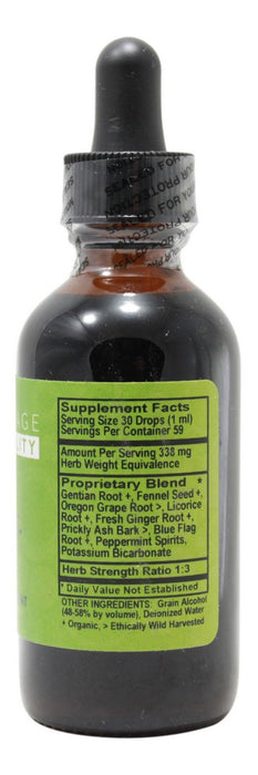 Digest-Ease - 2 oz Liquid - Supplement Facts