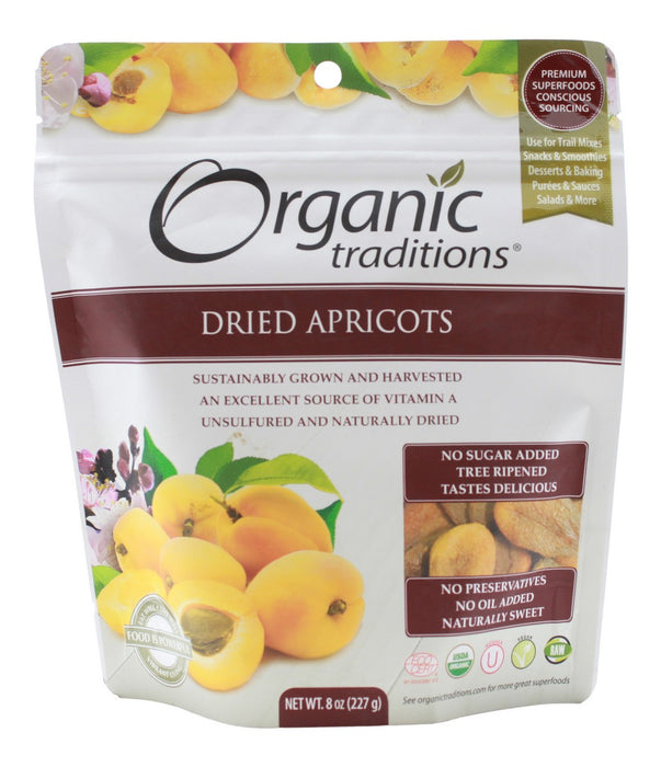 Dried Apricots - 8 oz - Front
