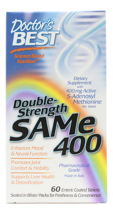 Sam-E 400 mg - 60 Tablets Front