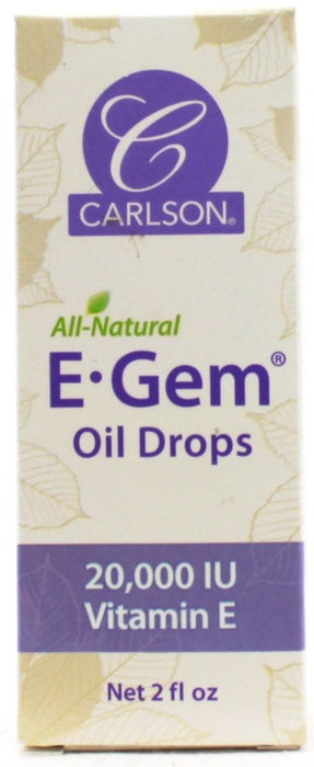 E Gem Oil Drops - 2oz