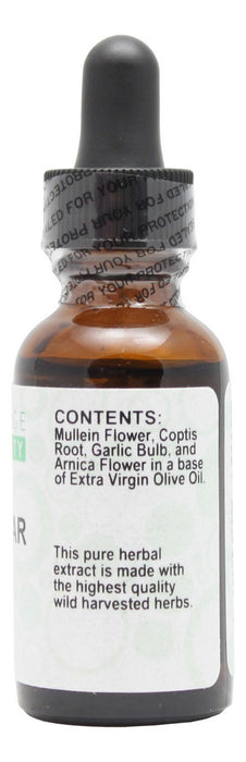 Ear Clear Oil - 1 oz - Supplement Facts