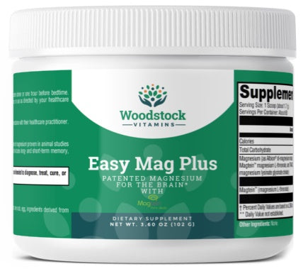 Easy Mag Plus Unflavored - 3.6 oz Powder