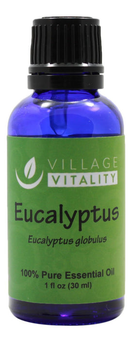 Eucalyptus Essential Oil - 1 oz Liquid - Front