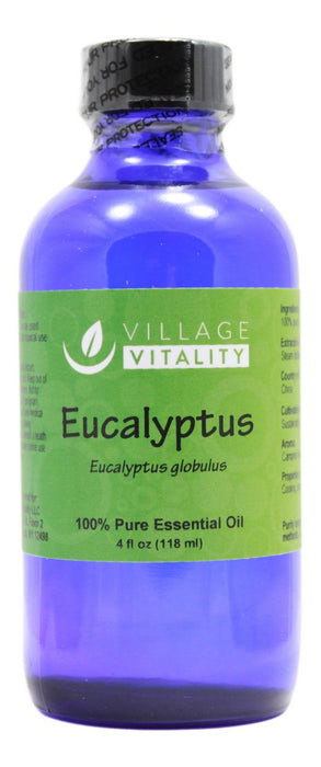 Eucalyptus Essential Oil - 4 oz Liquid - Front