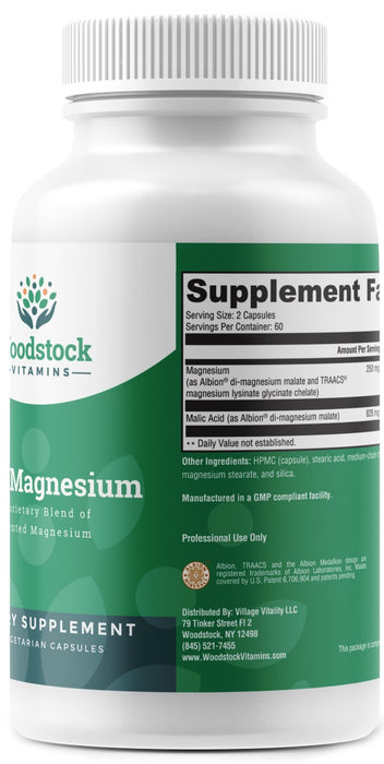 Easy Magnesium (Chelated Magnesium) - 120 Capsules