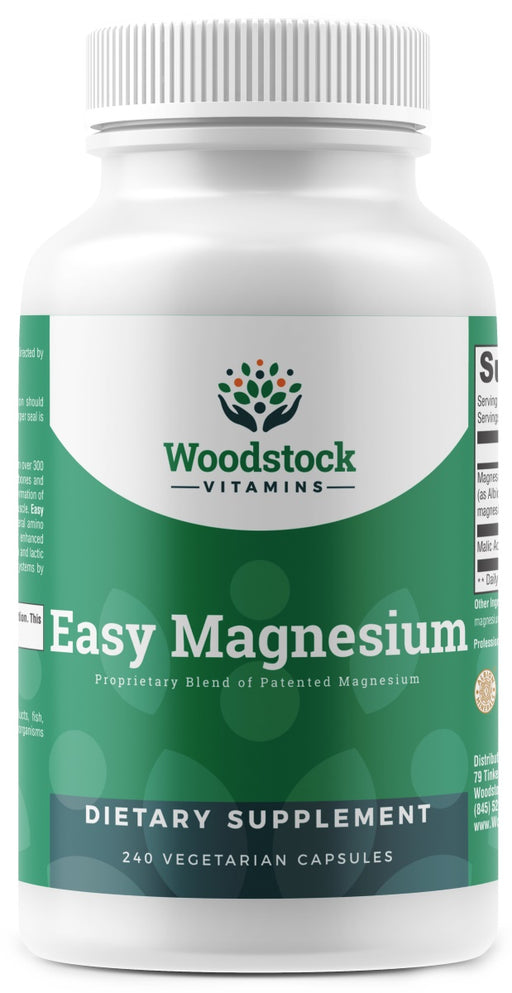 Easy Magnesium (Chelated Magnesium) - 240 Capsules