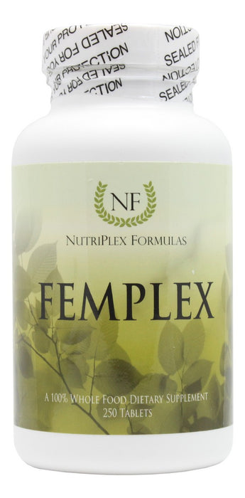 Femplex - 250 Tablets - Front