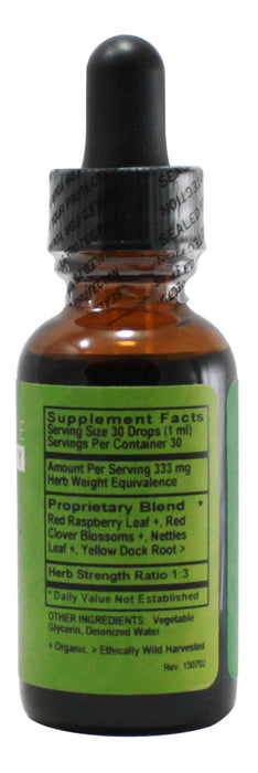 Fertility-Preg - 1 oz Liquid - Supplement Facts