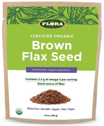 Brown Flax Seed - 14 oz