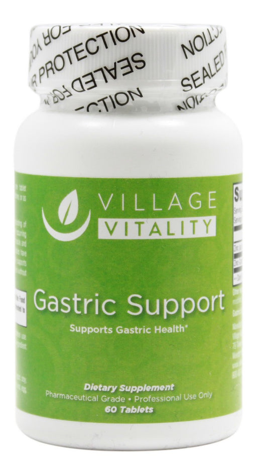 Gastric Support - 60 Tablets - Front