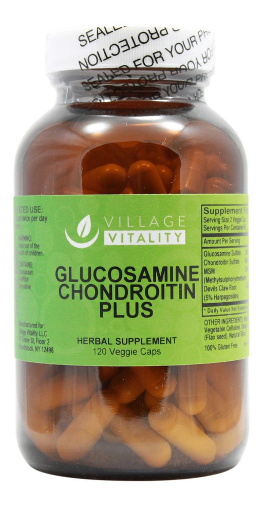 Glucosamine Chondroitin Plus - 120 Capsules - Front