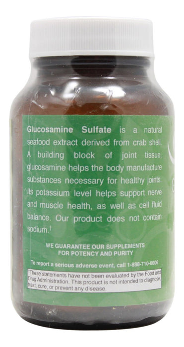 Glucosamine Sulfate 500 mg - 60 Tablets - Info