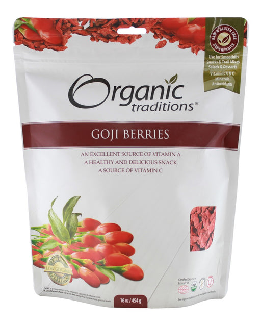Goji Berries - 16 oz - Front