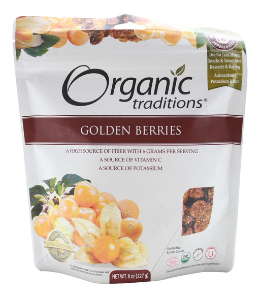 Golden Berries - 8 oz - Front