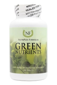 Green Nutrients - 250 Tablets - Front