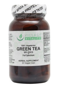 Green Tea - 90 Capsules- Front
