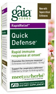 Gaia Quick Defense - 20 Capsules