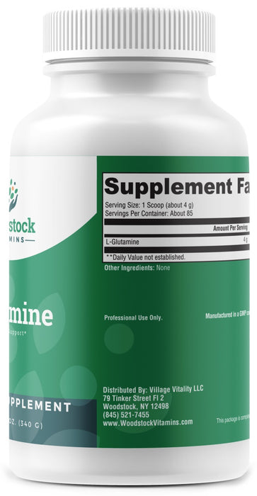Glutamine - 12 oz Powder