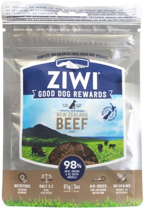 Good-Dog Treats Beef Recipe - 3 oz Pouch