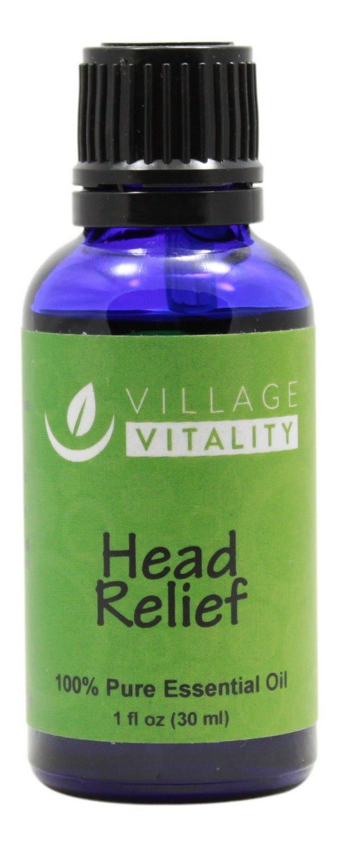 Head Relief Essential Oil - 1 oz - Front
