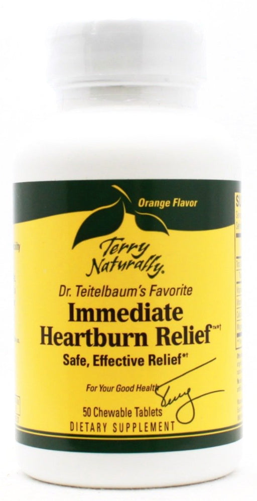 Immediate Heartburn Relief - 50 Tablets