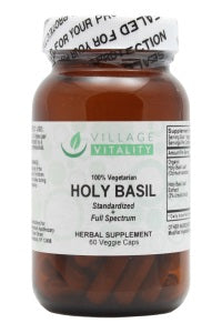 Holy Basil - 60 Capsules - Front
